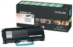 LEXMARK E260A11E ORJINAL SİYAH TONER - Thumbnail
