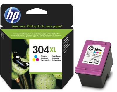 HP 304XL ORJİNAL RENKLİ KARTUŞ N9K07AE