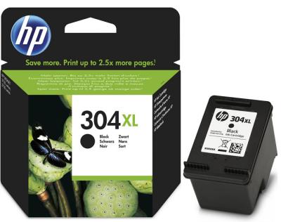 HP 304XL ORJİNAL SİYAH KARTUŞ N9K08AE